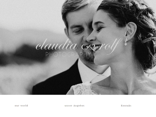 Website – claudia&rolf PHOTOGRAPHY