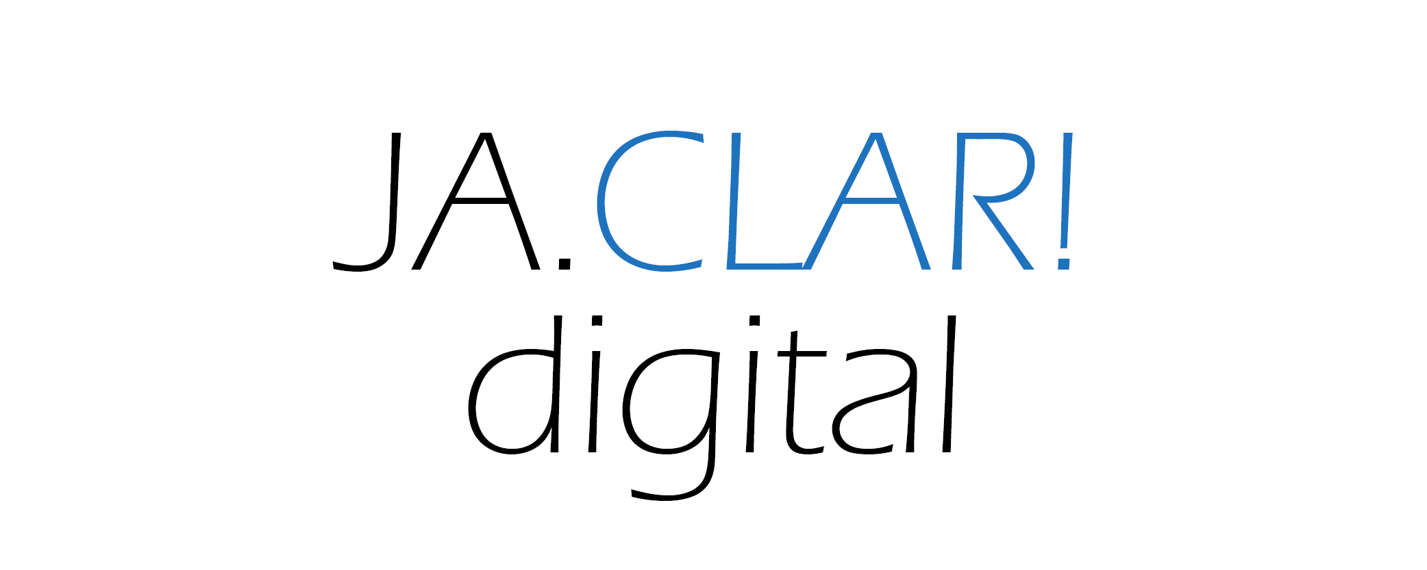 Logo JA.CLAR! Digital
