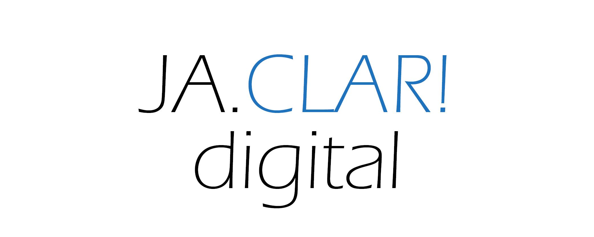 Logo JA.CLAR! Digital