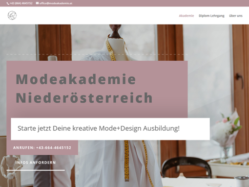 Website – Modeakademie