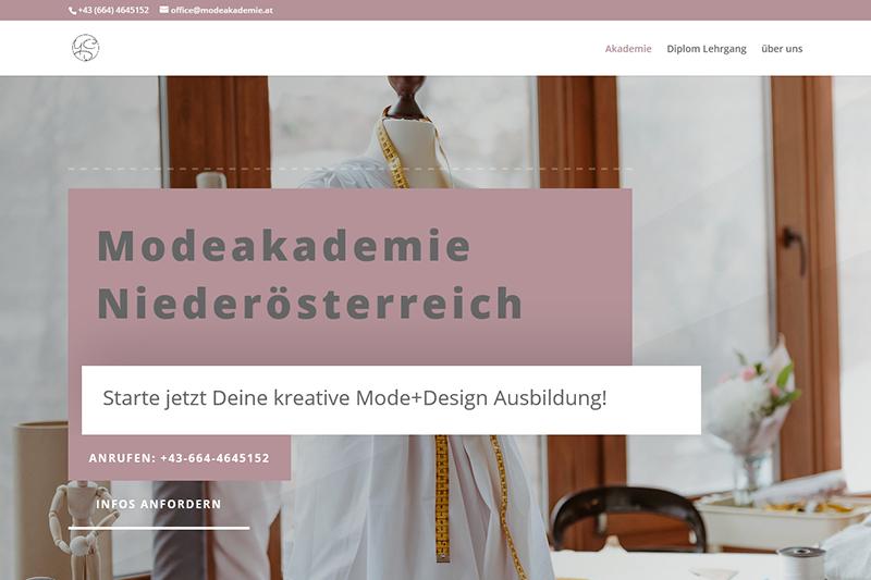 JaCLAR! Digital - Projekt Modeakademie